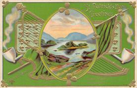 holA070608 - St Patrick's Day St. Patricks Day Postcard