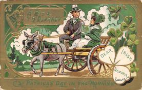 holA070616 - St Patrick's Day St. Patricks Day Postcard