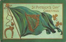holA070617 - St Patrick's Day Greetings St. Patricks Day Postcard