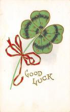 holA070625 - Good Luck St. Patricks Day Postcard