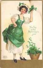 holA070628 - Artist Ellen Clapsaddle Saint Patrick's Day Postcard