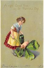 holA070633 - St Patrick's Day St. Patricks Day Postcard