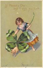 holA070638 - St Patrick's Day St. Patricks Day Postcard