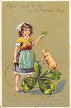 holA070647 - Good Luck to you, St Patrick's Day St. Patricks Day Postcard