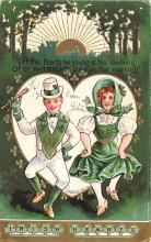 holA070651 - Irish Hearts, St Patrick's Day St. Patricks Day Postcard