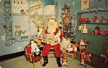 holf017875 - Santa Claus Postcard Christmas Post Card