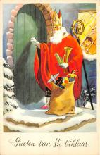 holf017882 - Santa Claus Postcard Christmas Post Card