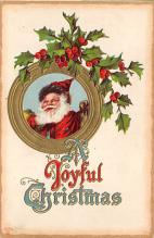 holf017923 - Santa Claus Postcard Antique Christmas Post Card