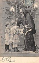 holf017958 - Santa Claus Postcard Christmas Post Card