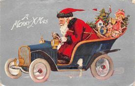 holf017961 - Santa Claus Postcard Christmas Post Card
