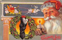 holf017970 - Santa Claus Postcard Christmas Post Card