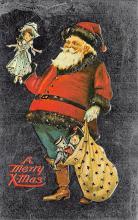 holf017971 - Reproduction Santa Claus Postcard Christmas Post Card