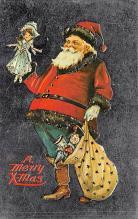 holf017972 - Reproduction Santa Claus Postcard Christmas Post Card
