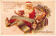 holf017979 - Santa Claus Postcard Christmas Post Card