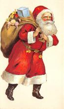 holf017980 - Reproduction Santa Claus Postcard Christmas Post Card