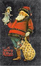 holf017986 - Reproduction Santa Claus Postcard Christmas Post Card