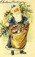 holf017988 - Reproduction Santa Claus Postcard Christmas Post Card