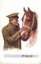 hor001073 - Artist Signed C.T. Howard Horse Postcard Postcards
