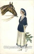 hor001080 - Artist Signed Bianchi Horse Postcard Postcards