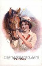 hor001091 - Artist Signed Horse Postcard Postcards