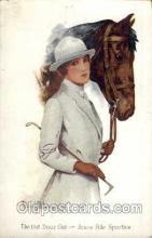 hor001092 - Artist Signed Wilson Horse Postcard Postcards