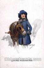 hor001106 - Artist Signed Barribal Horse Postcard Postcards