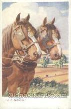 hor001230 - Artist Whydale Horse Postcard Postcards