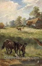 hor001237 - Artist Harry Payne,  Horse Postcard Postcards
