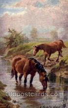 hor001238 - Artist Harry Payne,  Horse Postcard Postcards