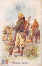 hor001685 - Tirailleurs Marocains  Postcard Post Card