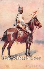 hor001686 - Jodhpur Sardar Risala AC Lovett Postcard Post Card