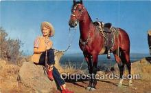 hor001708 - Western Beauties Color by Hall Postcards Post Cards Old Vintage Antique