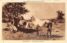 hor001720 - Detroit Institute of Arts Rosa Bonheur Postcards Post Cards Old Vintage Antique