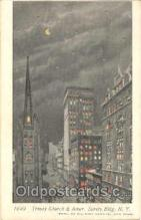 htl000011 - Trinity Church, NYC, New York City, USA Hold to Light Postcard Postcards