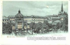 htl000012 - Akt-Ger Berlin, Hold to Light Postcard Postcards