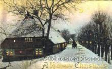 htl000051 - Christmas Hold to Light Postcard Postcards