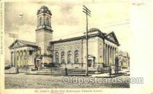 htl003003 - St. Johns Methodist Church, St. Louis, MO Hold to Light Postcard Postcards