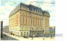 htl004005 - Hotel Astor, New York City, NY Hold to Light Postcard Postcards