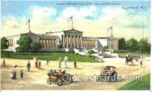htl004008 - Albright Art Gallery, Buffalo, NY Hold to Light Postcard Postcards