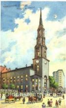 htl004010 - Park Street Church, Boston, MA Hold to Light Postcard Postcards
