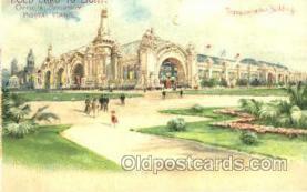 htl005005 - Transportation Building Hold to Light Postcard Postcards