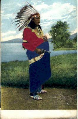 Silk Postcard
