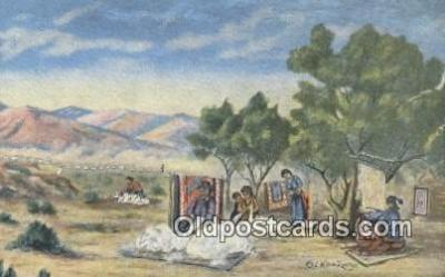 ind200137 - The Navajo Indian Postcard, Post Card