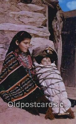 Navajo Indian Mother