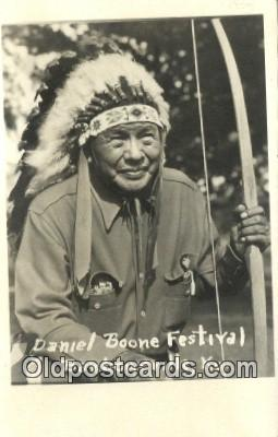 Daniel Boone Festival, Real Photo