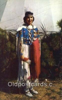 Indian Maiden, Pawnee
