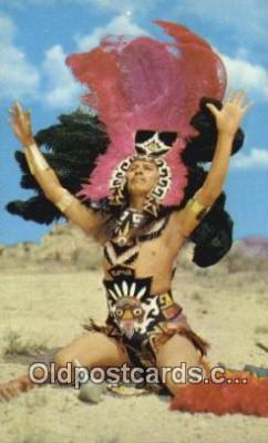 ind200500 - Aztec Dancer at Inter-Tribal Ceremonials Indian Postcard, Post Card