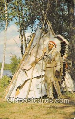 Indian Chief & Tepee