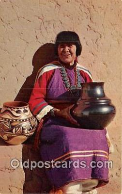 Maria, Famous Pottery Maker