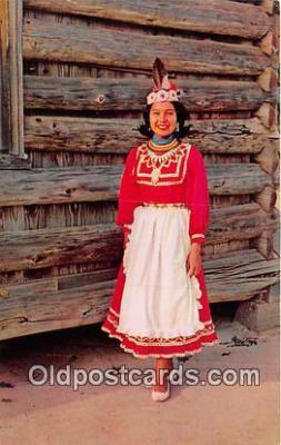 ind200681 - Choctaw Indian Princess Philadelphia, Miss, USA Postcard Post Cards